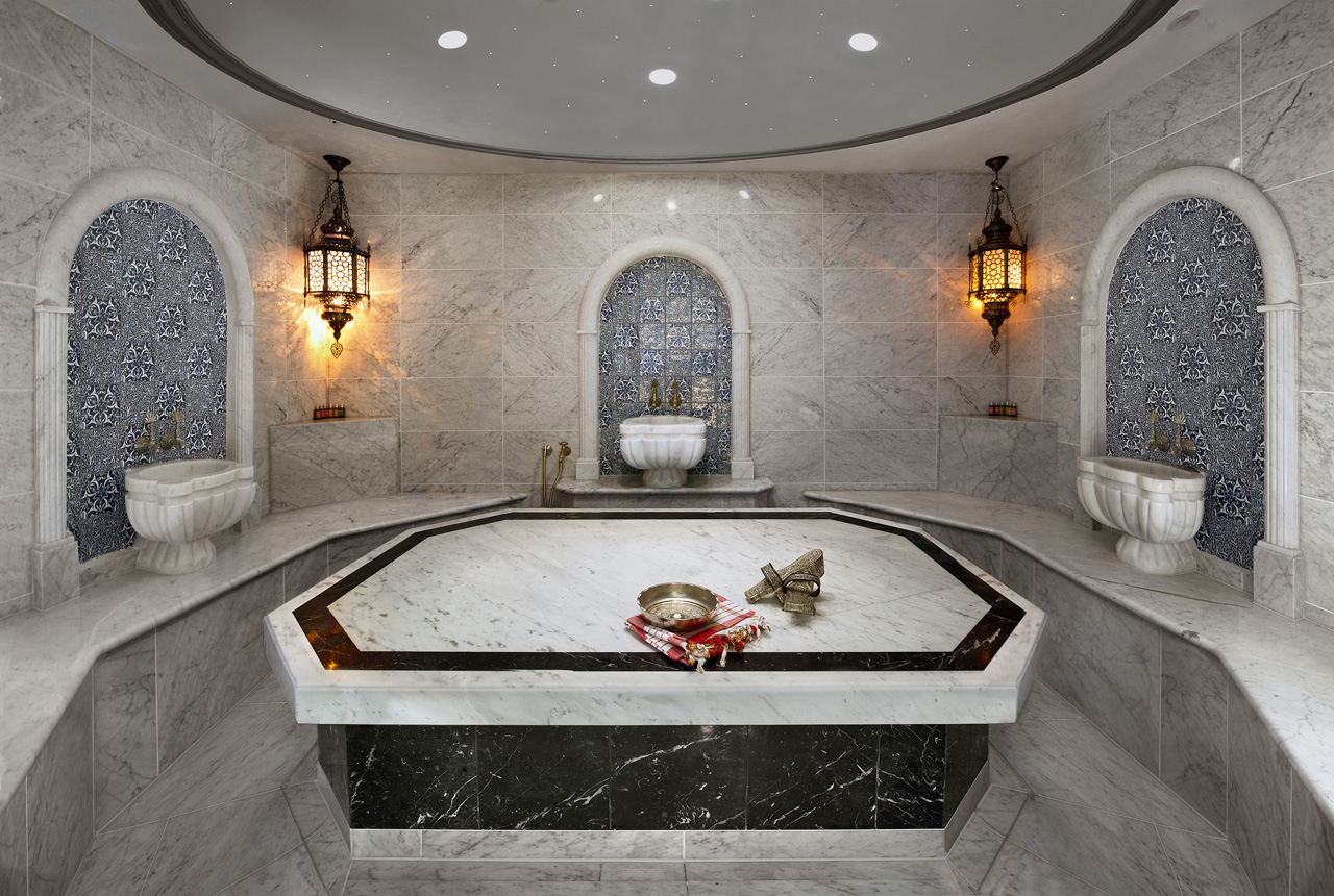 Photo of a Hammam in a private home in Cheshire, interior photo by Positive Image