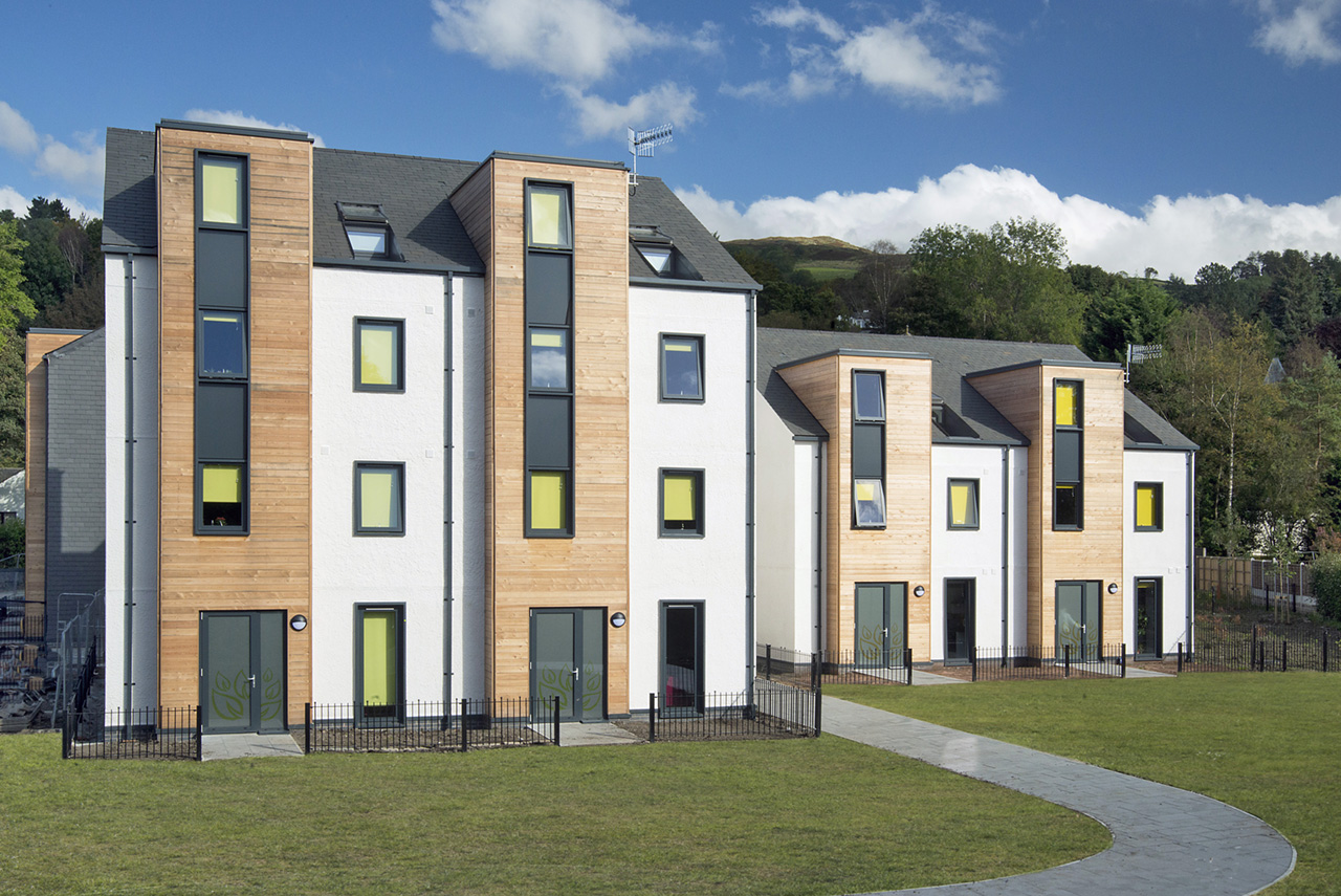 Student accommodation in Kendal, Cumbria. Photography by Positive Image
