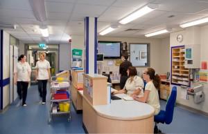 Ward at Leighton Hospital