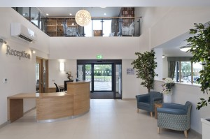 Care Home reception Chester
