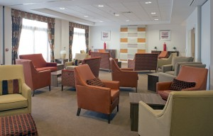 Care home residents lounge Chester