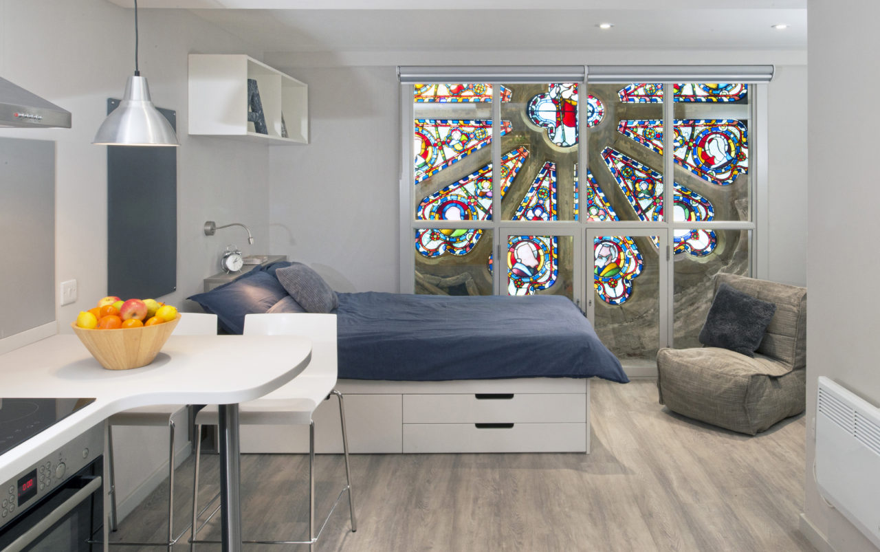 Student-accommodation-conversion-at-The-Old-Baptist-Church-Manchester