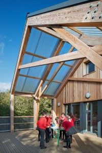 Outdoor Learning Deck Mellor School Cheshire