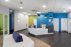 Vets Practice Reception Area