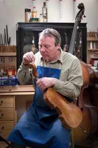 Violin maker at Ayres Violins Manchester