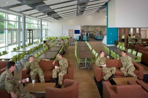 New Mess Hall Gaza Barracks Catterick