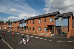 Housing Scheme in Leigh Lancs