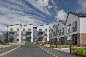 Social Housing in Swadlincote Leicestershire