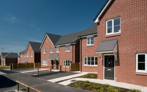 Social housing scheme in Northwich Cheshire-1
