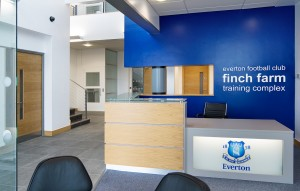Everton FC Training Facililty Halewood
