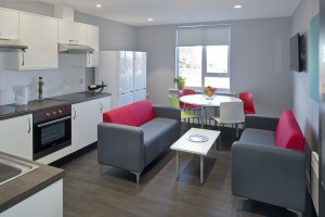 Kitchen in Student Accommodation Chester