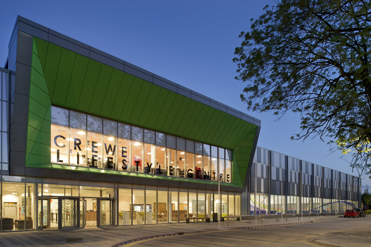 Photo of Crewe Lifestyle Leisure Centre, by Positive Image Architectural Photography