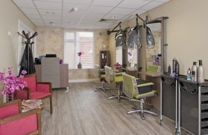 Residents Hair Salon at Care Home Warrington