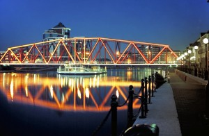 Bridges-Salford-Quays-Bascule-Bridge