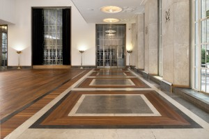 RIBA Headquarters London-new-flooring-in-hall