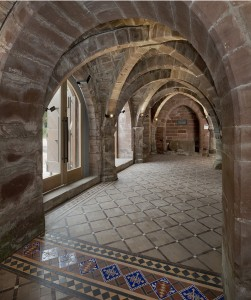 Vaulted Cloister Norton Priory