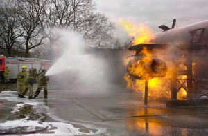Fire Training event in Morpeth