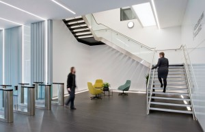 Sovereign Square Office centre Interior Leeds
