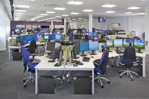 Fire Police Joint Control Centre Bootle