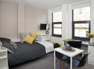 Bedroom Student Accommodation in Newcastle